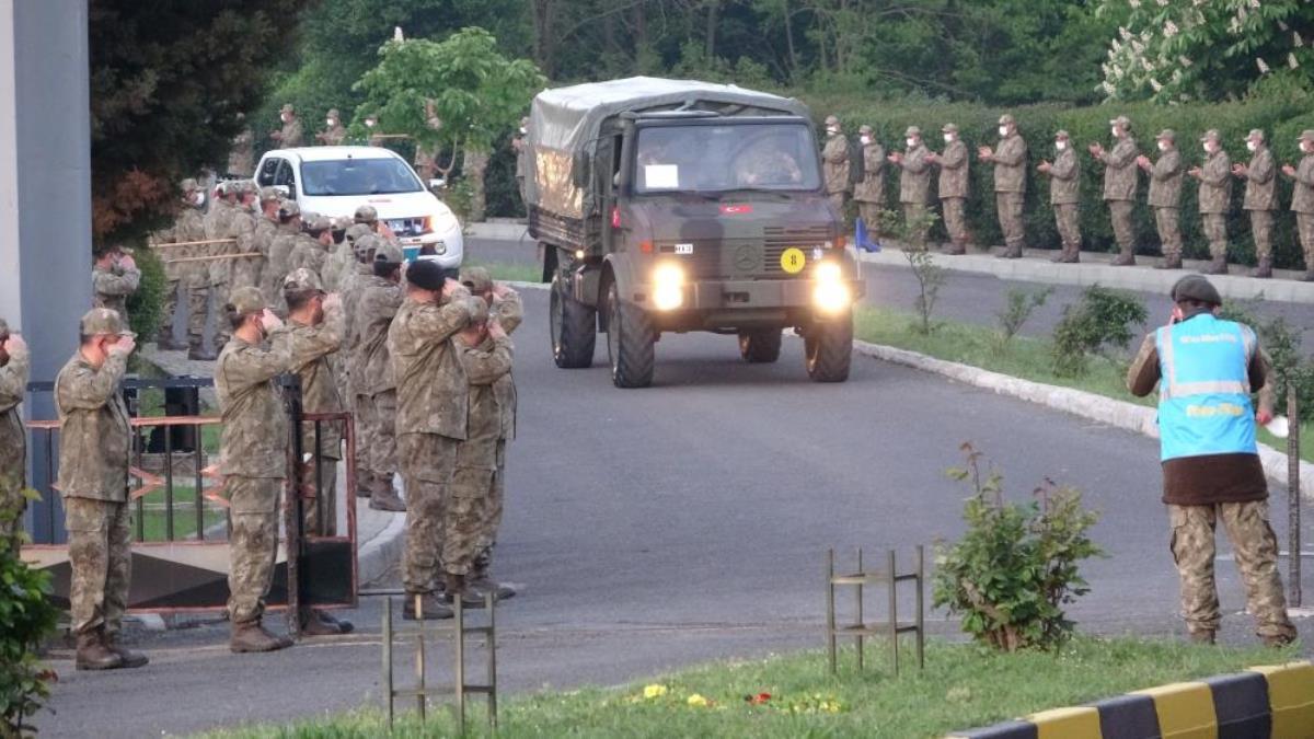 NATO Tatbikatına katılacak olan Türk Silahlı Kuvvetleri personeli Romanya'ya hareket etti