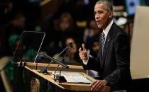 Obama BM'ye Seslendi : İsrail'e işgalci dedi.