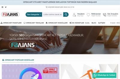 Opencart E-Ticaret