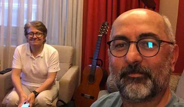 Prof. Dr. Sondan Durukanoğlu Feyiz'in eşi de taburcu oldu