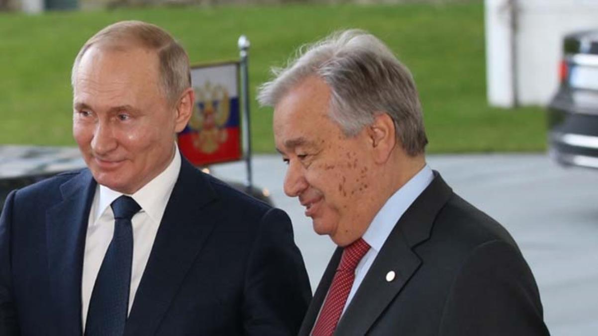 Putin, BM Genel Sekreteri Guterres ile Filistin meselesini görüştü