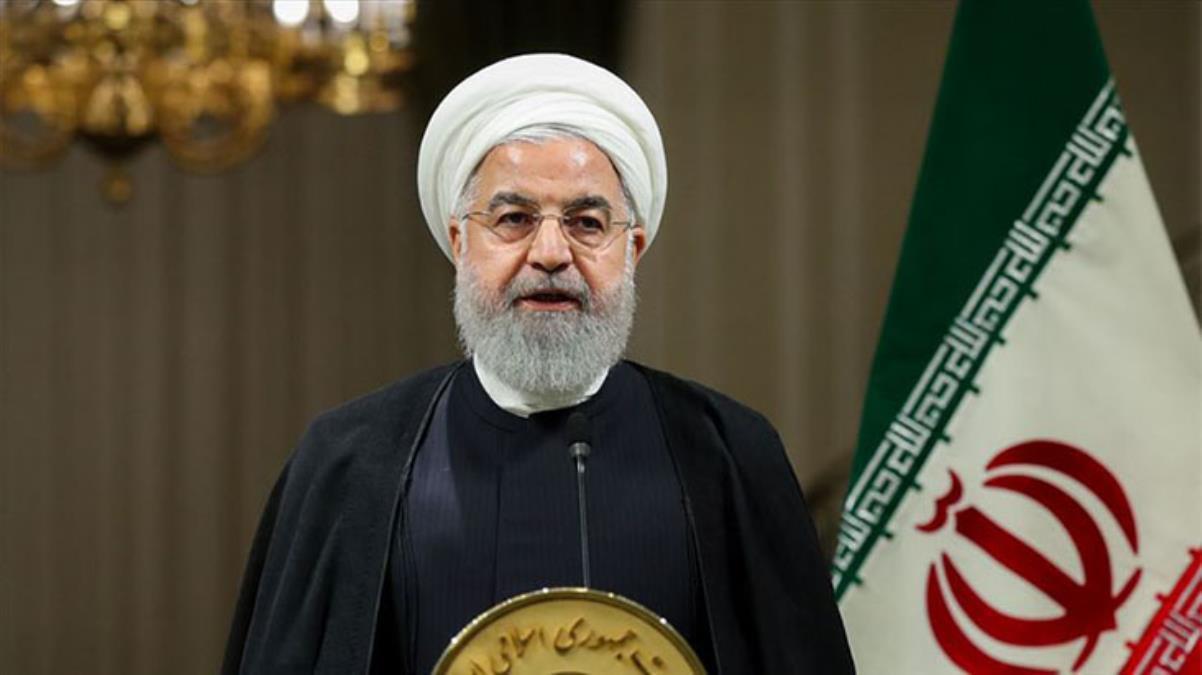 Ruhani'den anlaşmayı ihlal eden ABD ve AB'ye rest: Kimse İran'dan ilk adımı beklemesin