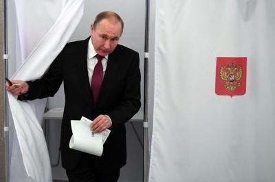Rusya'daki başkanlık seçimini tekrardan Putin kazandı