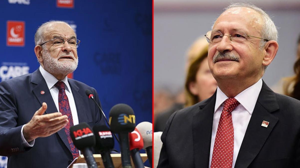 Saadet Partisi'nde ittifak karmaşası! Karamollaoğlu, Kılıçdaroğlu'nun Millet İttifakı adayı tanımına destek verdi