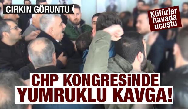 Şanlıurfa CHP kongresinde yumruklu kavga!
