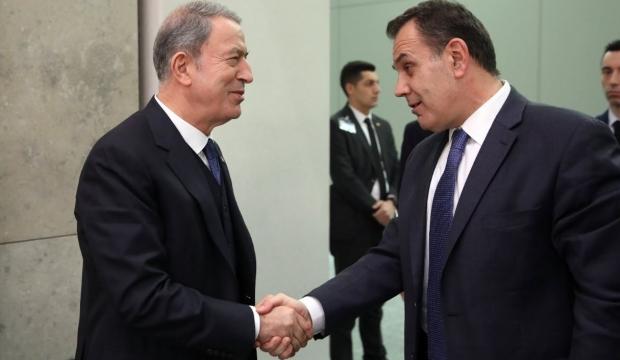 Savunma Bakanı Hulusi Akar'dan kritik görüşme