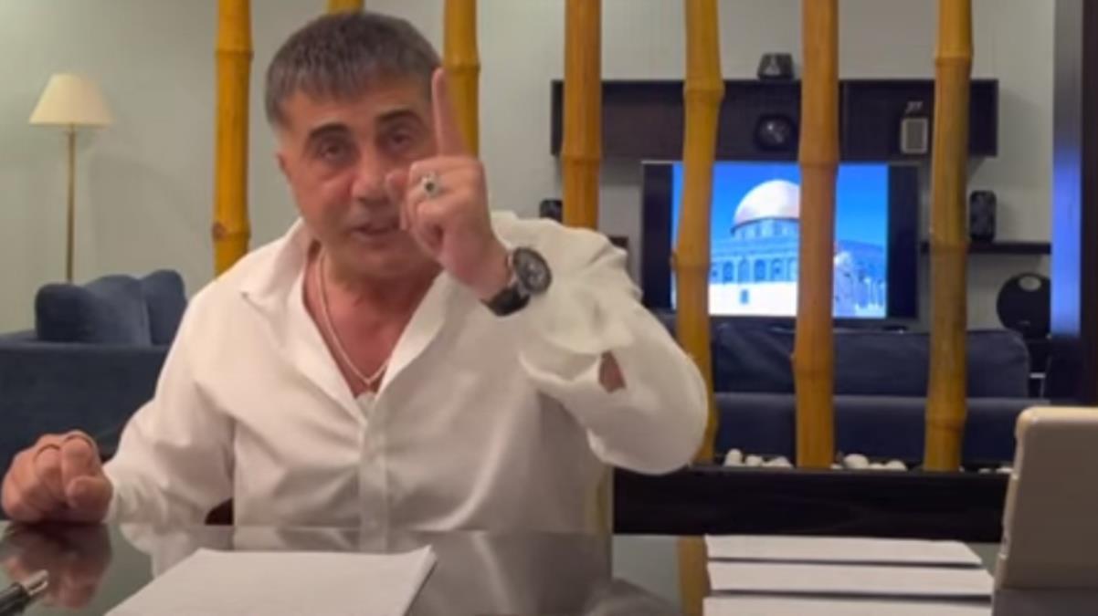 Sedat Peker 3. videoyu yayınladı! Bu kez hedefinde Serhat Albayrak var: Senin için vekilin kemiklerini kırdırttım