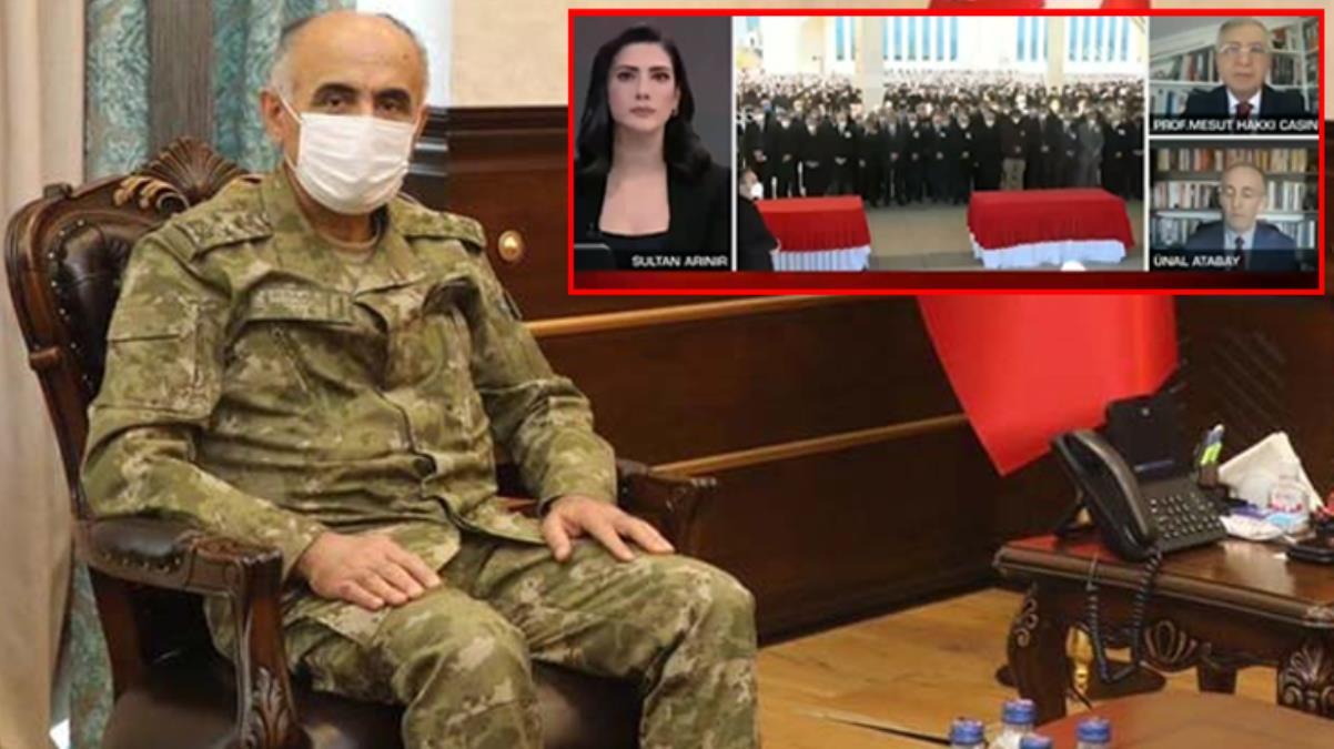 Şehit Korgeneral Osman Erbaş'ın devre arkadaşı canlı yayında yıllığı okudu: Saf Anadolu insanı