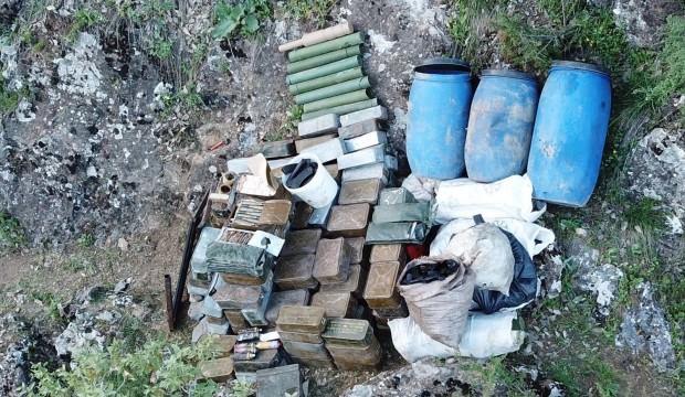 Siirt'te PKK'ya darbe: Hepsi imha edildi
