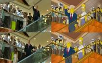 Simpsonlar 16 yıl önce Trump'u bildi!