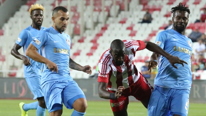 Sivasspor ile Gaziantep FK 3. randevuda