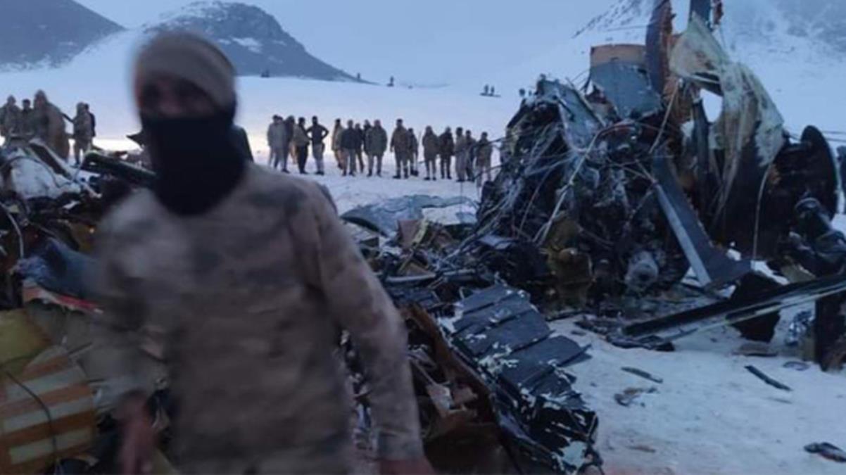Son Dakika! 11 şehit verdiğimiz kazayla ilgili ön rapor: Ani hava değişimiyle helikopter bulut içinde kaldı ve görüşü kaybetti