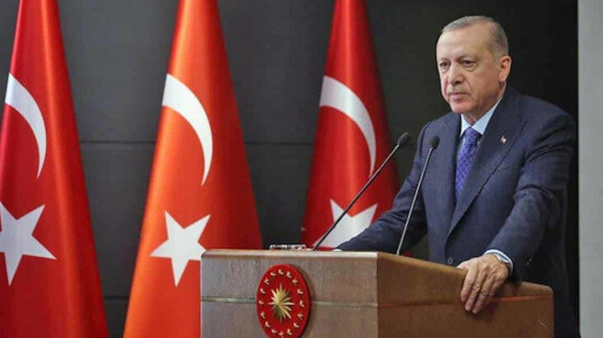 Son Dakika: Cumhurbaşkanı Erdoğan, Kabine toplantısı sonrası açıklamalarda bulunuyor