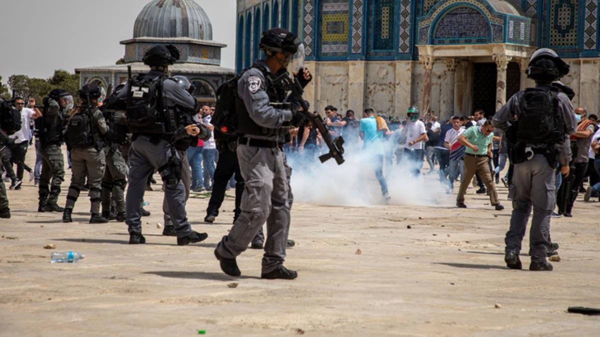 Son Dakika! Dışişleri'nden ateşkese rağmen Mescid-i Aksa'da namaz kılanlara saldıran İsrail'e tepki: Samimiyetsiz tutumları devam ediyor