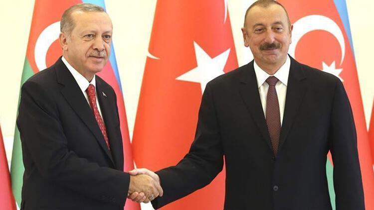 Son dakika haberi: Aliyev, Karadeniz'deki doğal gaz keşfi nedeniyle Erdoğan'ı kutladı