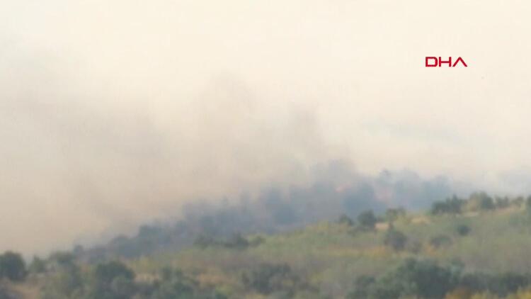 Son dakika haberi: Bulgaristan sınırında yangın