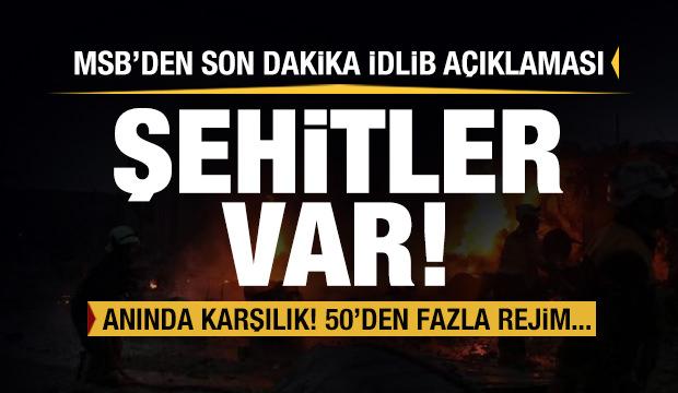 Son dakika haberi: İdlib'den şehit haberleri geldi! Türkiye'den jet karşılık!