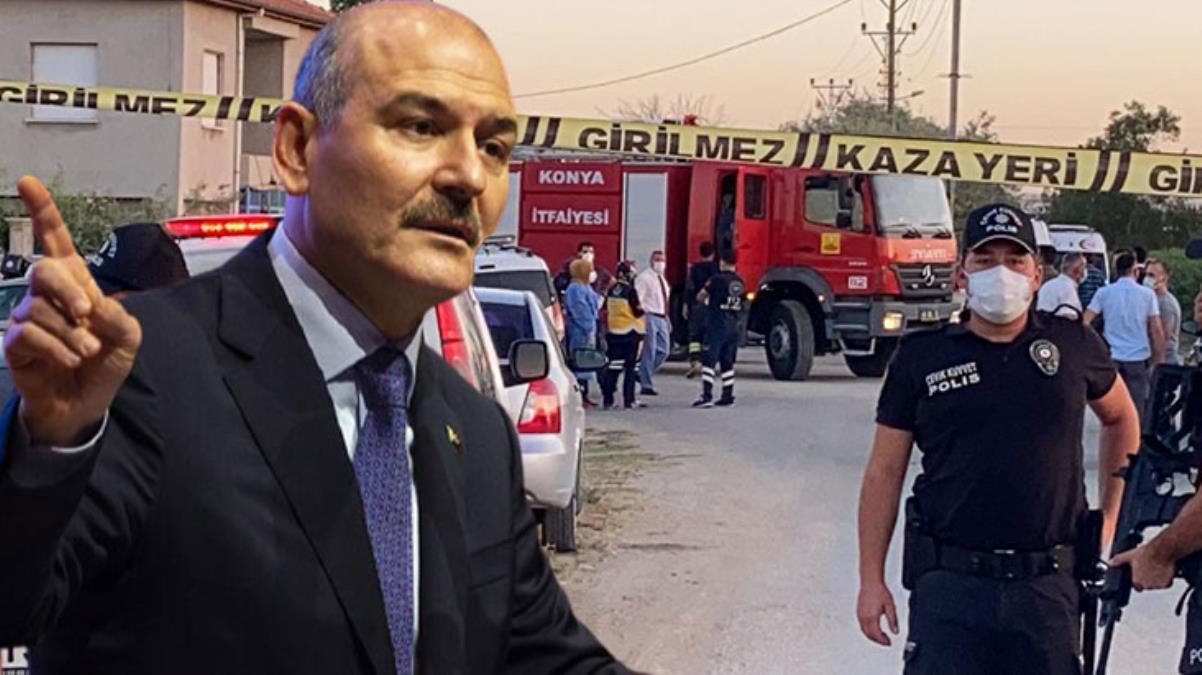 Son Dakika: İçişleri Bakanı Soylu'dan Konya'da 7 kişinin öldürülmesiyle ilgili ilk açıklama: Kürt-Türk meselesiyle alakası yok