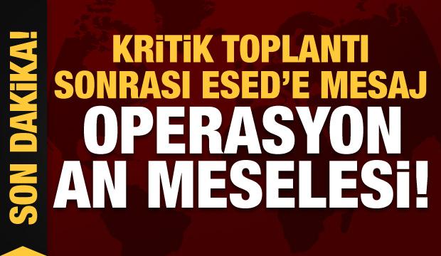 Son dakika: Kritik toplantı sonrası Ömer Çelik'ten İdlib resti! Operasyon an meselesi