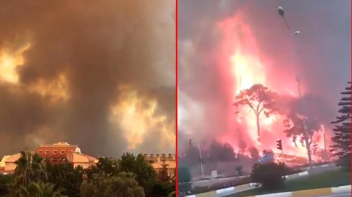 Son Dakika: Manavgat'ta 4 ayrı noktada orman yangını çıktı! Alevler yerleşim yerlerine ulaştı, devlet hastanesi boşaltıldı