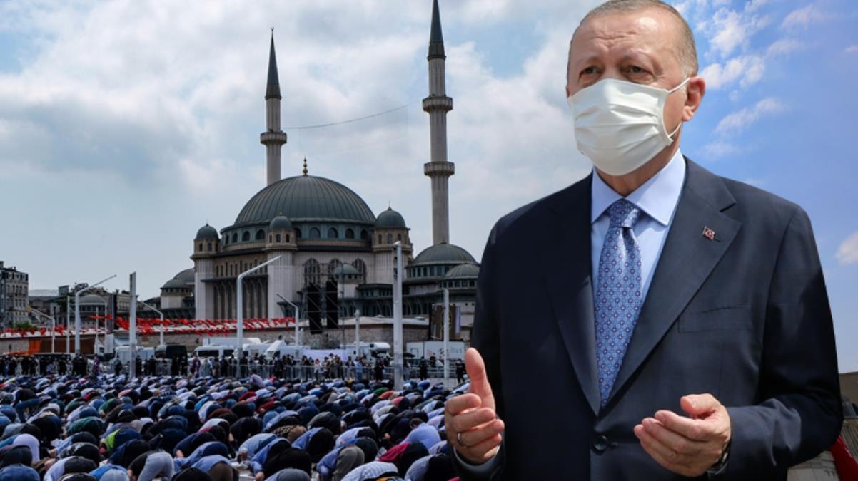 Son dakika: Taksim Camii ibadete açıldı! Cumhurbaşkanı Erdoğan'dan dikkat çeken mesaj: İstanbul'un fethine hediyedir