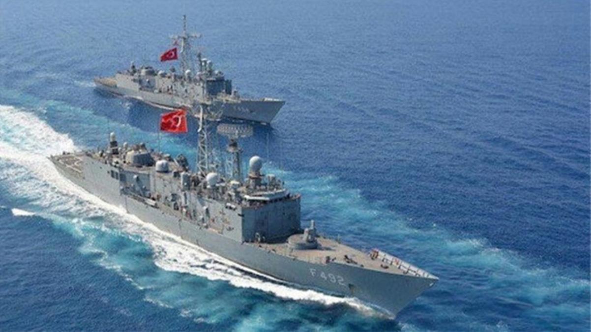 Son Dakika: Yunanistan'a ait savaş uçakları Ege'de 'TCG Çeşme' gemisini taciz etti