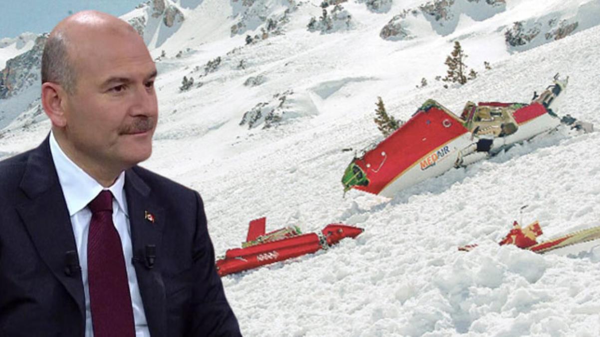 Soylu'dan, Yazıcıoğlu kazasıyla ilgili dikkat çeken açıklama: Biz de o helikopterle gidecektik