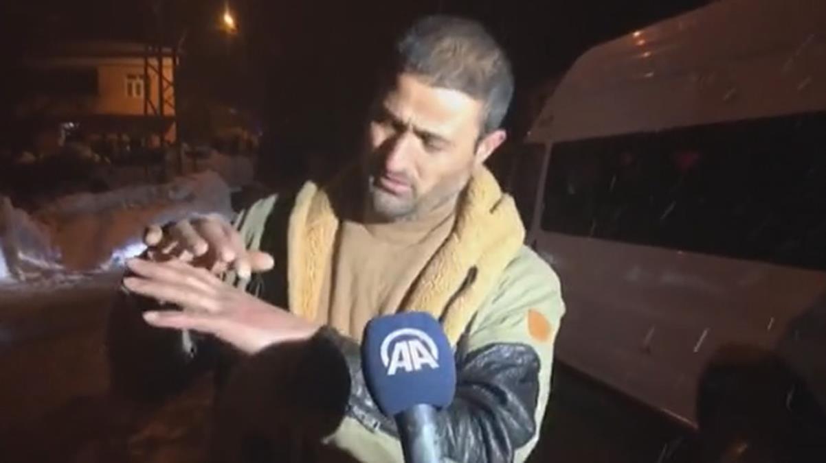 Tatvan'da düşen helikopterde yaralı askerleri kurtaran köylü o anlarını anlattı: Karları ellerimle kazıp bir asker çıkardım