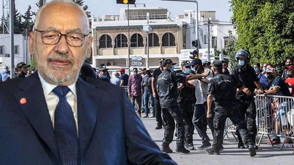 Tunus'ta darbe karşıtı Gannuşi'nin ev hapsinde tutulduğu iddiası yalanlandı