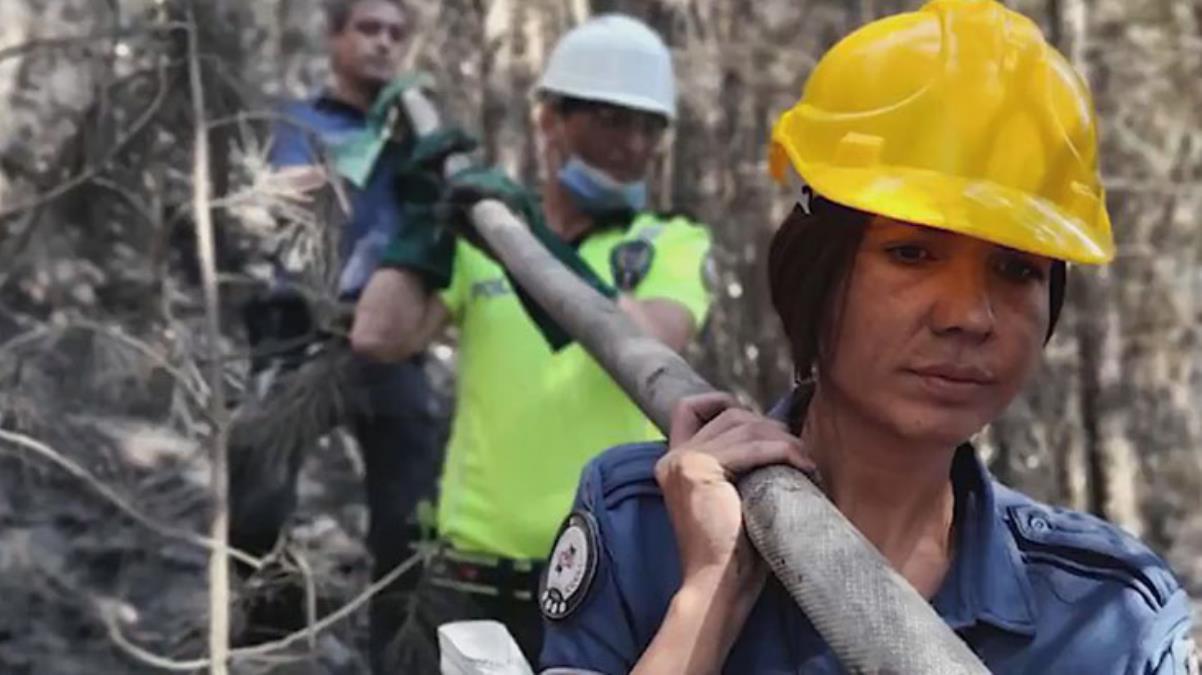 Türkiye'deki orman yangınlarıyla ilgili EGM'den duygulandıran belgesel