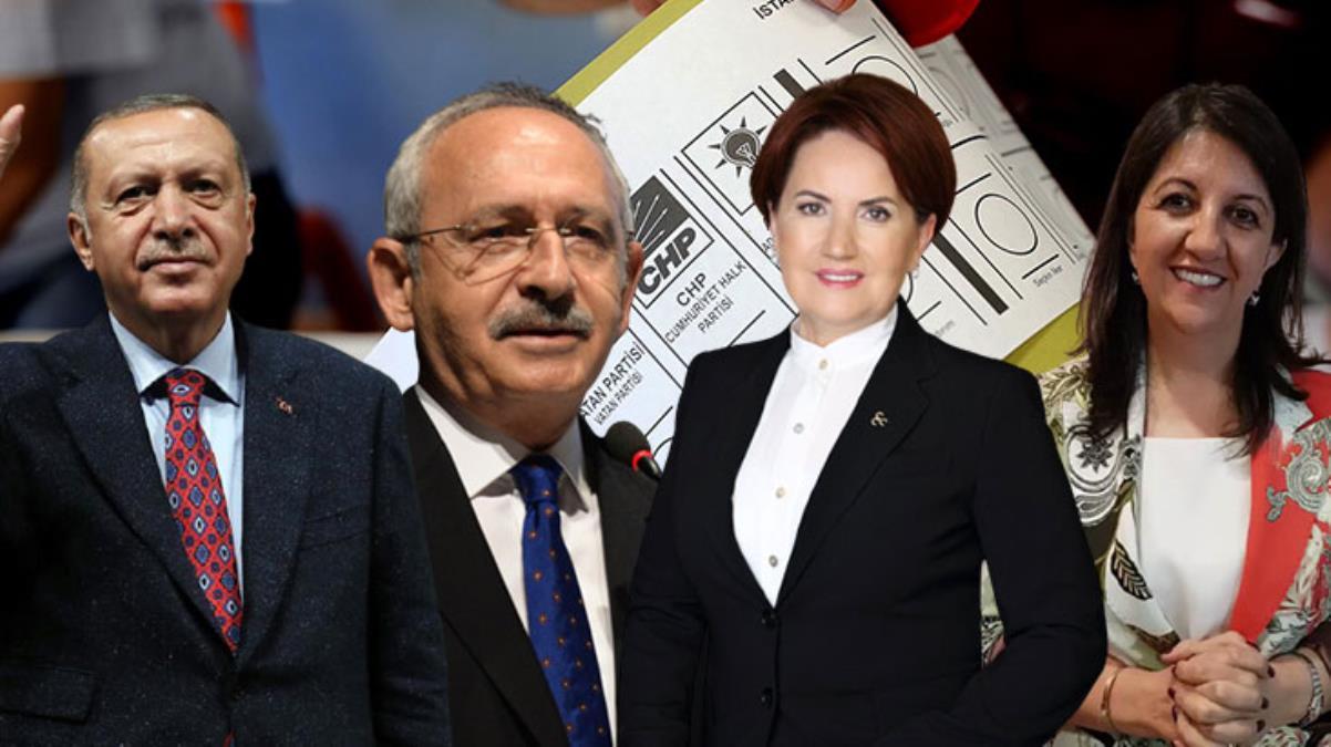 Yeni yapılan ankette büyük yarış! İYİ Parti ve HDP kafa kafaya geldi